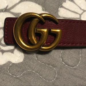 Gucci's dupe GG belt